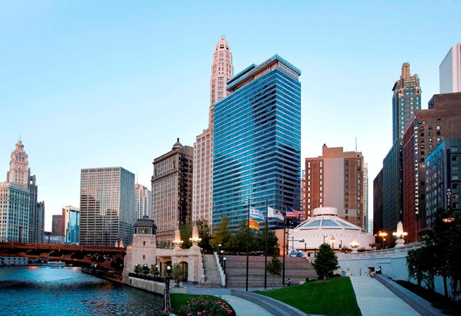 Wyndham Grand Chicago Riverfront in Chicago, Ilinois