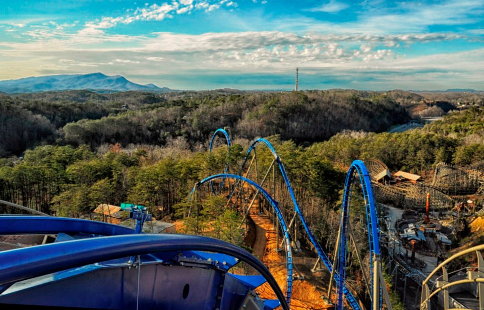 Dollywood in Pigeon Forge, Tennessee.