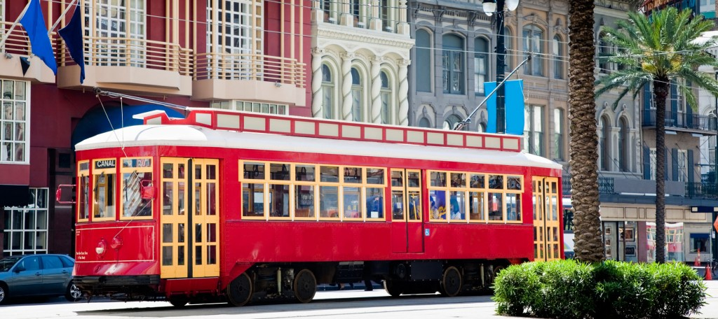 New Orleans streetcars are an efficient way to navigate the city in style.