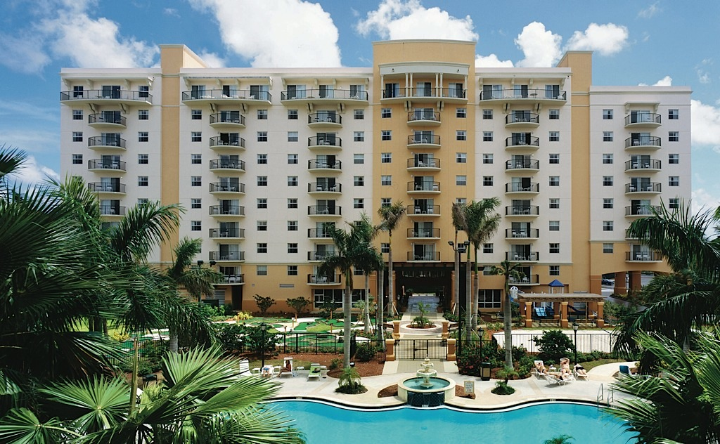 The Wyndham Palm Aire in Pompano Beach, Florida.