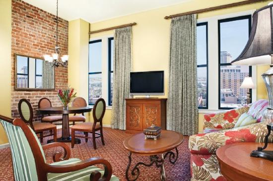 The suites are modern, yet still filled with character.