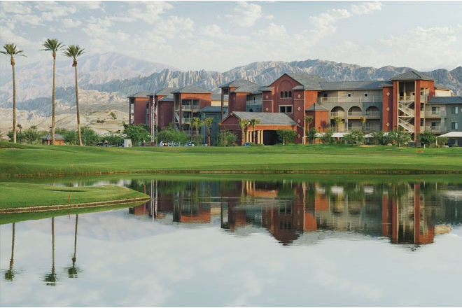 Year round sunny weather makes Worldmark Indio a perfect winter getaway spot.