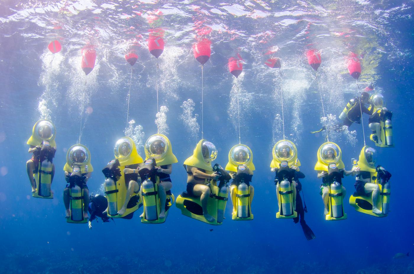 Top 5 tuesday escape the cold at wyndham st thomas for Dive scooter