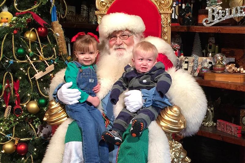 Santa's Workshop at Busch Gardens