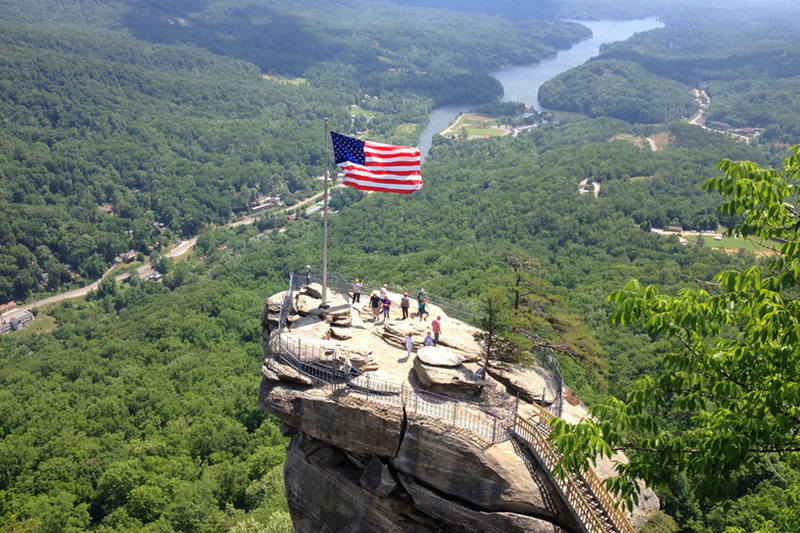 Chimney Rock State Park Offers Amazing Views Of Lake Lure