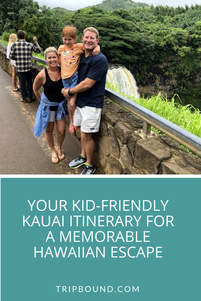 kid-friendly kauai itinerary