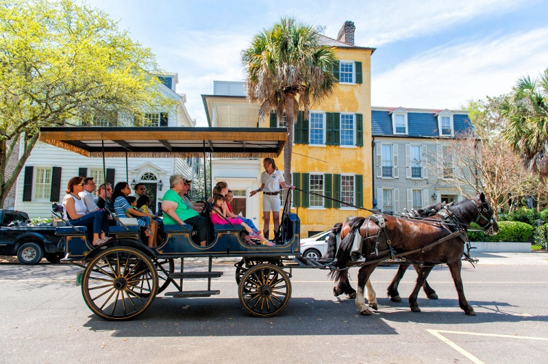 history of the south in charleston south carolina
